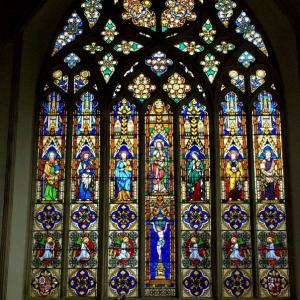 Window at St Marys Church