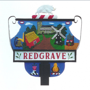 Redgrave Sign
