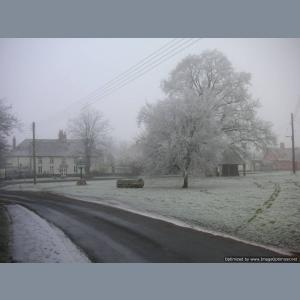 Winter in Redgrave